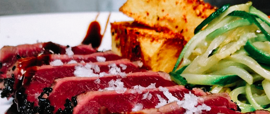 Receta Tataki Vacio de Buey Albur Restaurante