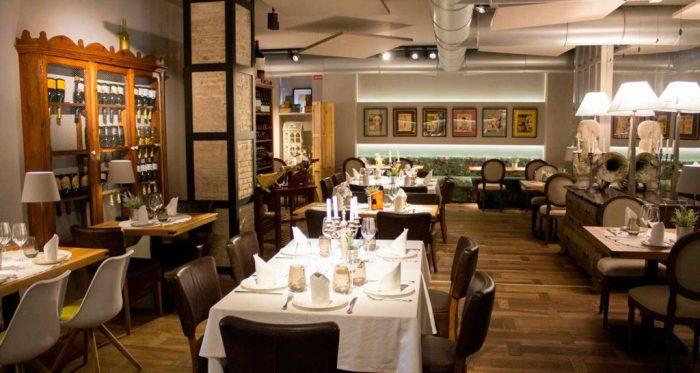 Goya Gallery Restaurant Valencia Carne de Buey