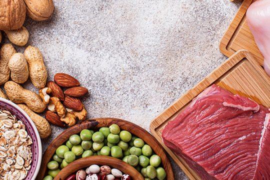 dieta rica en proteínas